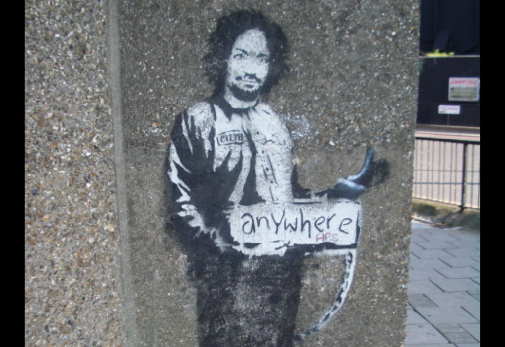 Banksy had it wrong, at least when it comes to litigating against Chinese companies. Anywhere does not cut it.